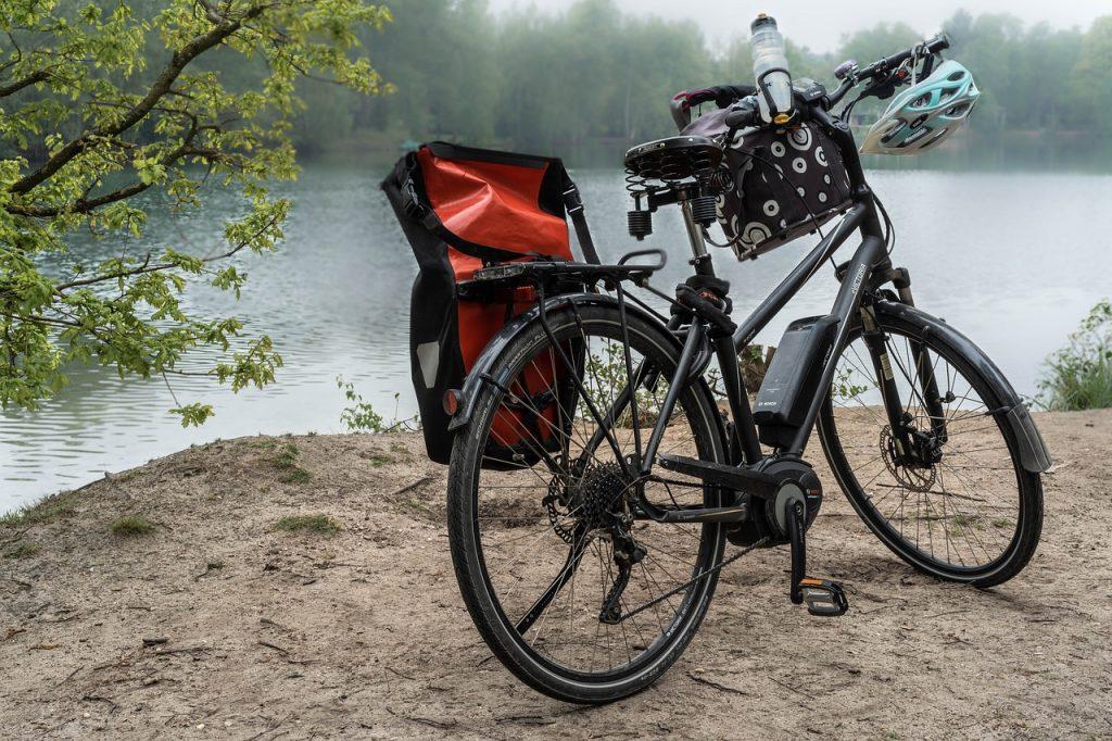 Elektrische dames fiets met middenmotor
